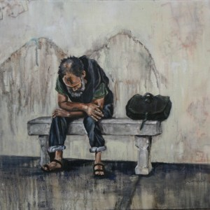 "Limited Edition Print of ""Angel Unawares"""
