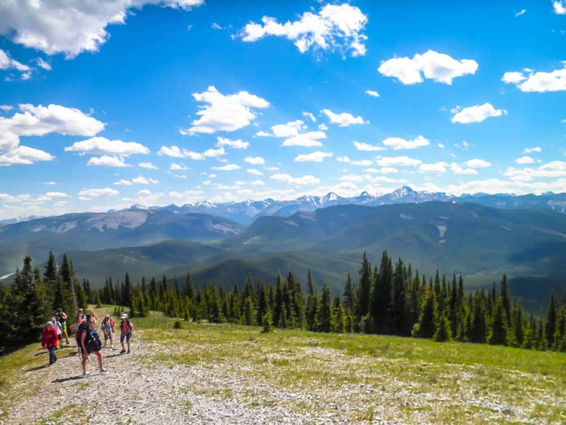 Powderface Ridge hike Alberta Canada