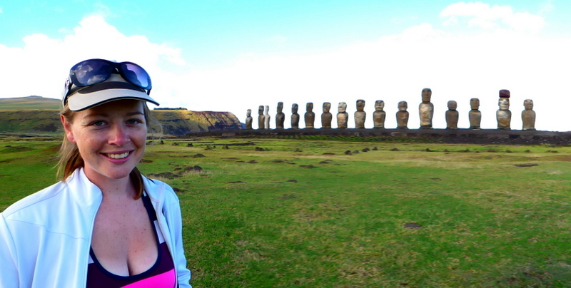 Megan Jerrard, Easter Island