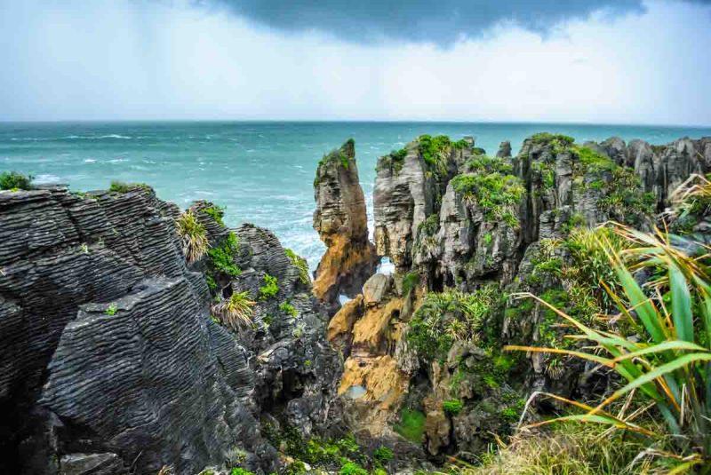 Pancake Rocks, Punakaiki New Zealand South Island