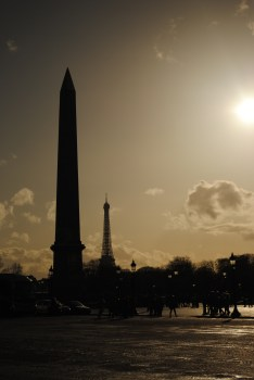 Obelisk at Place de la Concord