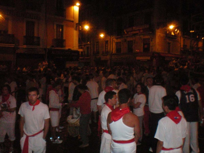 san fermin at night