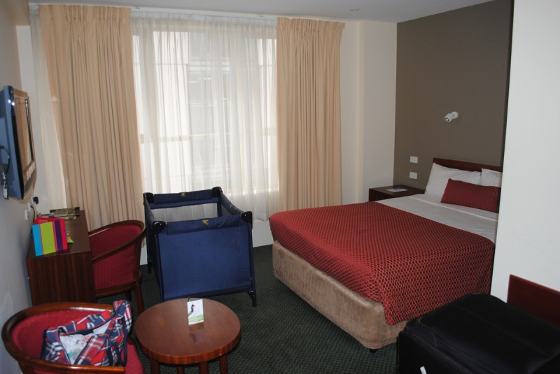 The Heritage Queen Room at the Ibis Styles Melbourne, The Victoria Hotel