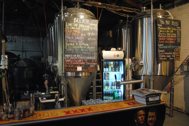 What was on tap at Moon Dog Brewhouse Melbourne when I visited, very extensive