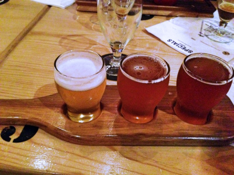 Hop Factory Tasting Paddle