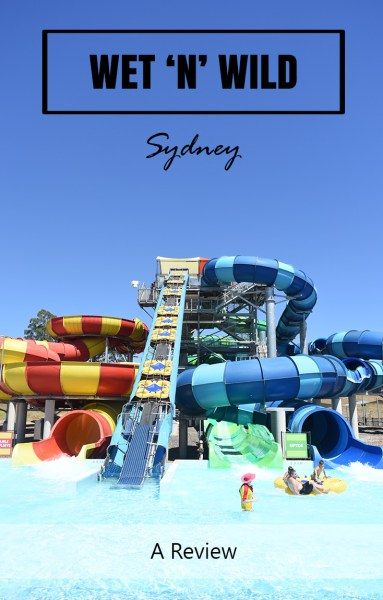 Wet n Wild Sydney Slide Pool