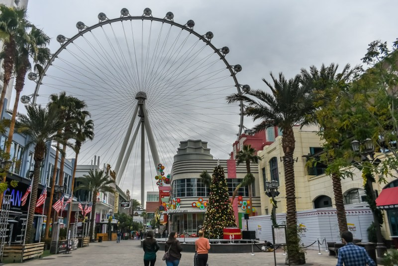 Linq High Roller on the Linq Promenade Las Vegas