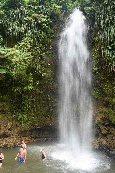 Toraille Waterfall near Soufriere, St Lucia