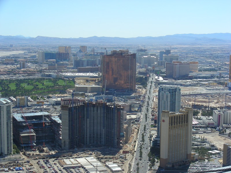 View of Las Vegas from Stratosphere