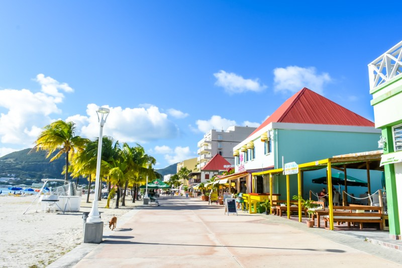 Front Street Philipsburg Sint Maarten
