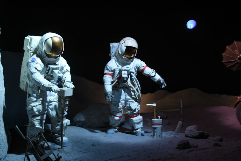 Moon Landing Exhibit Space Center Houston