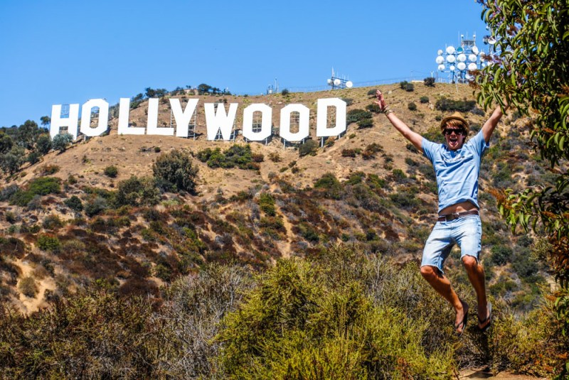 Hollywood Sign, the closest you can walk to