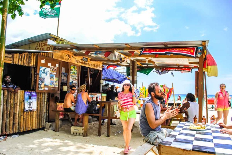 Negril Sun Restaurant hut Jamaica-3
