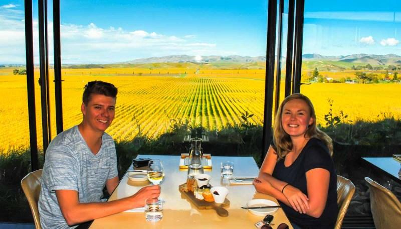 Brancott Estate wine tasting and vineyard