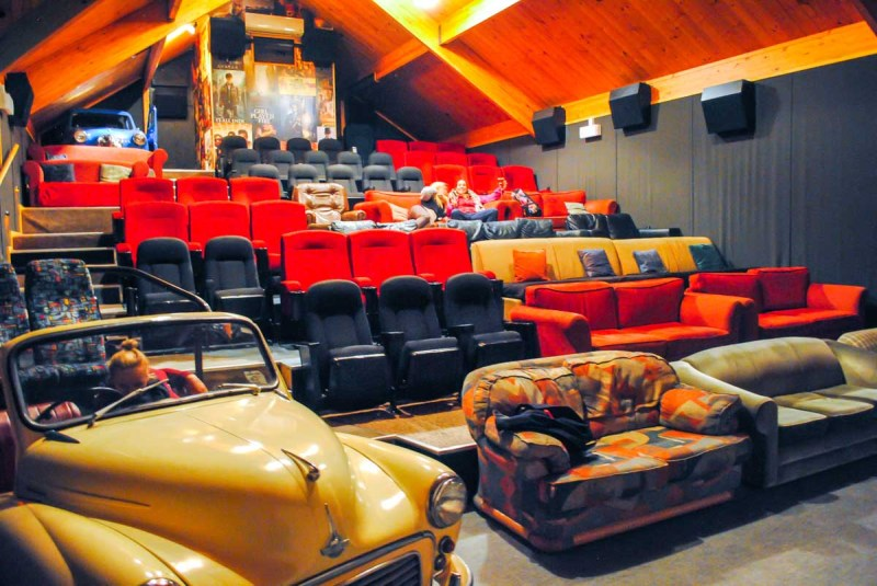 Cinema Paradiso in Wanaka New Zealand