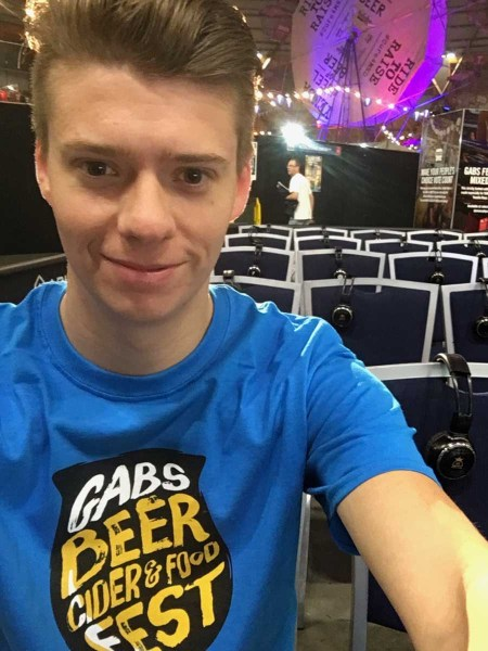 Me at GABS volunteering