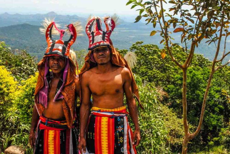 Villagers of Melo Village Labuan Bajo Indonesia