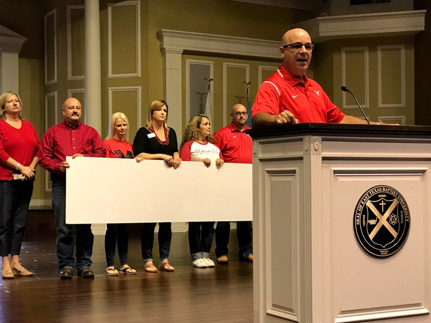 Marshall ISD Convocation Fall 2017 - Keith Hill Marshall Education Foundation