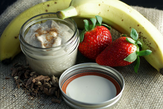 Cinnamon Cashew Butter Dip - Back To My Roots