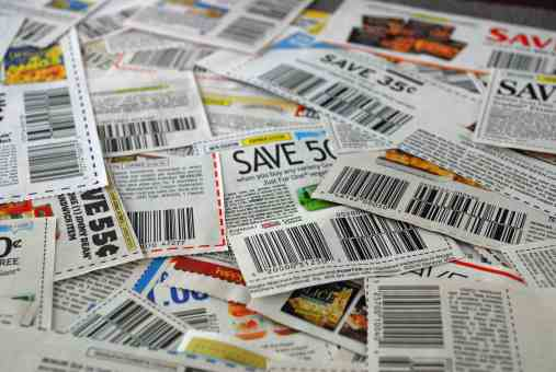Are you looking for ways to save on groceries? You can save with coupons without spending a lot of time planning out coupon strategies. With a few minutes a week, you can save a lot with coupons.