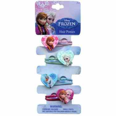 Disney's Frozen Hair Ponies make a great stocking stuffer for girls