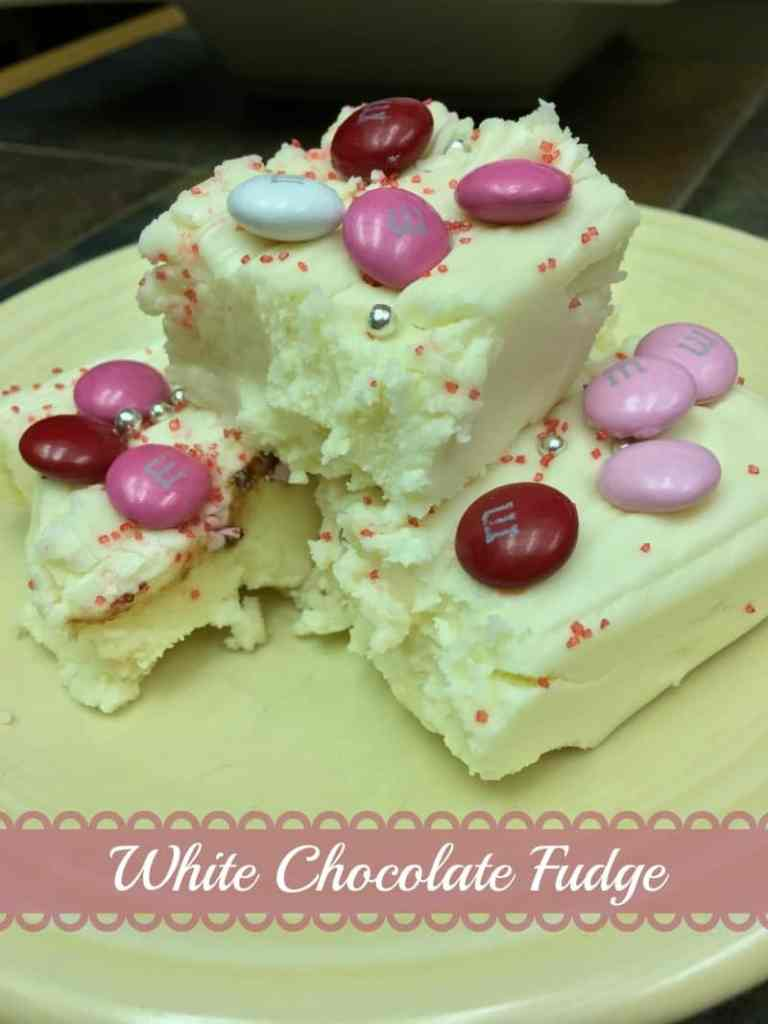 White Chocolate Fudge - Back To My Southern Roots