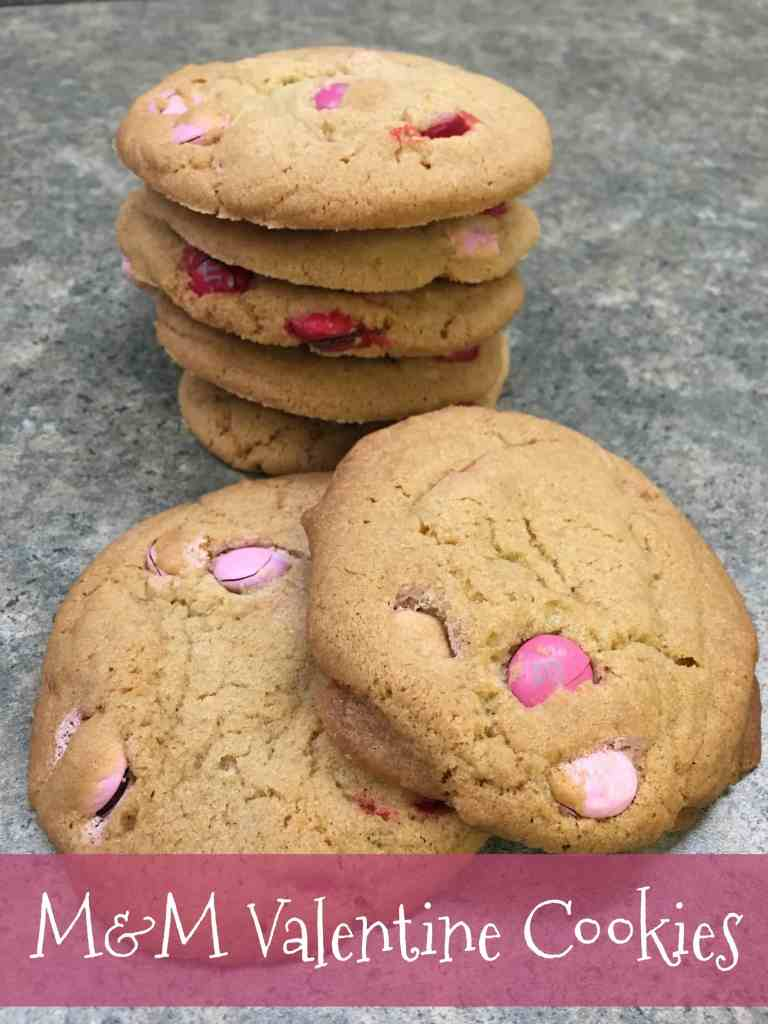 M&M Valentine Cookies - Back To My Southern Roots