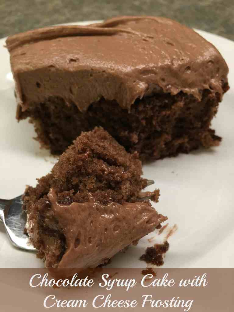 Chocolate Syrup Cake with Chocolate Cream Cheese Frosting - Back ...