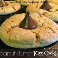Peanut Butter Kiss Cookies are so easy to make, and everyone will be begging for more. Trust me, these are chewy and delicious.