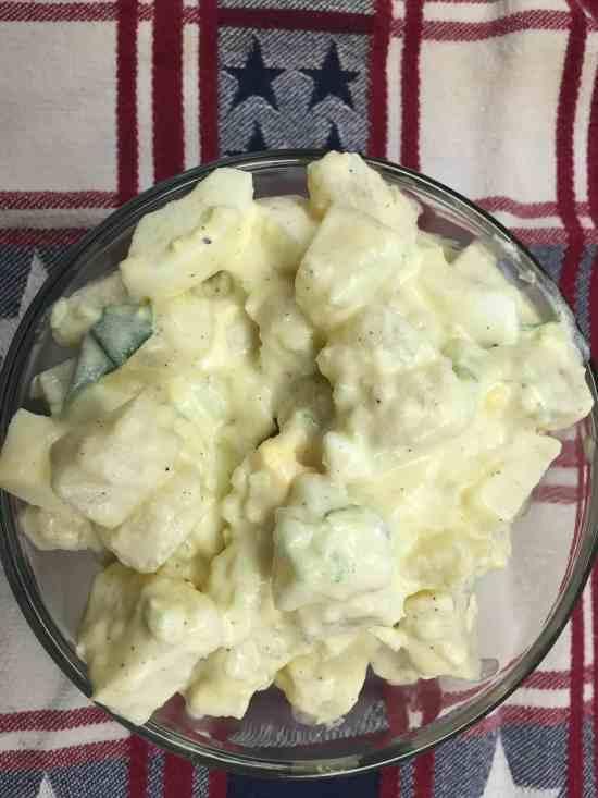 The Best Homemade Potato Salad Around