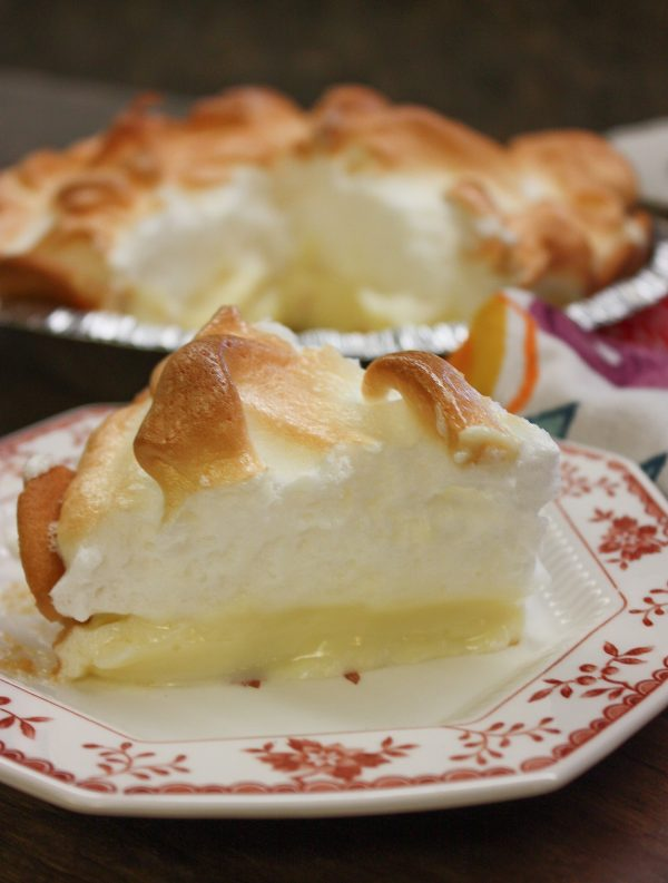 This is an easy lemon meringue pie recipe that is delicious for any occasion including Christmas and Thanksgiving.