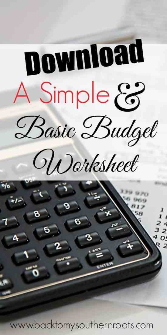 Do you hate budgets, but know you need one? Here's a few tips on how to get a basic budget started and get rolling on saving money.