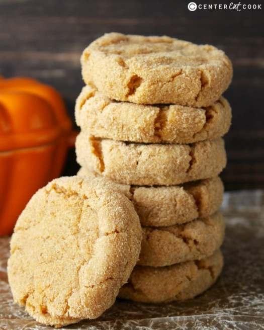 Pumpkin Cheesecake Cookies - Center Cut Cook