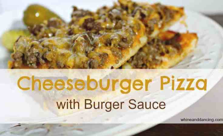 Cheeseburger Pizza
