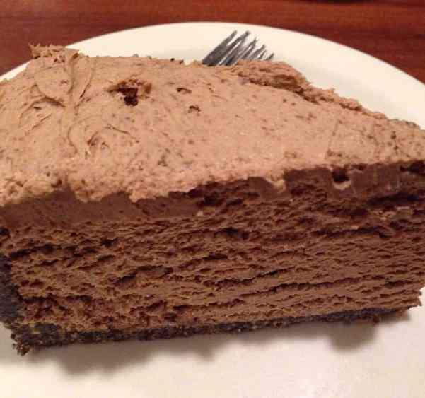 5 Minute Chocolate Cheesecake - Marilyn's Treats
