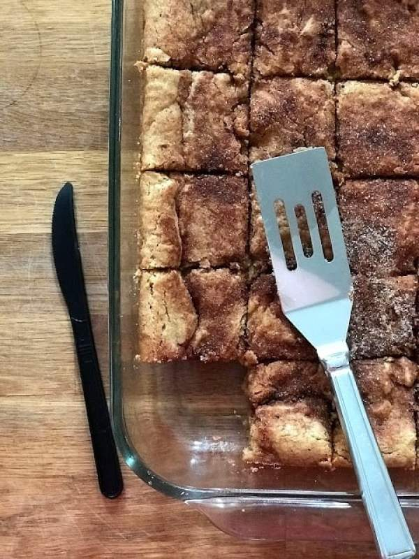 Snickerdoodle Blondies - Making a House a Home