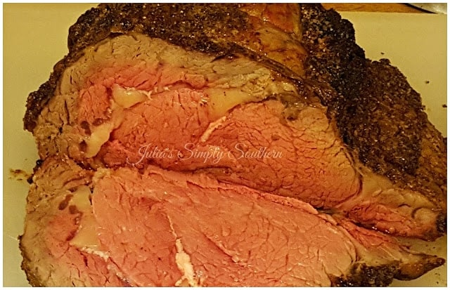 Prime Rib - Beef - Rib Roast - Roasted - Perfect - Delicious - Julia's Simply Southern