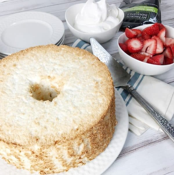 Angel Food Cake from Kelly Lynn's Sweets and Treats