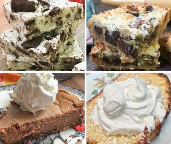 You are going to love all of these desserts made with sweetened condensed milk. This is a comprehensive list of bars, cookies, pies, and cakes. Condensed milk dessert recipes are rich, creamy, and delicious.