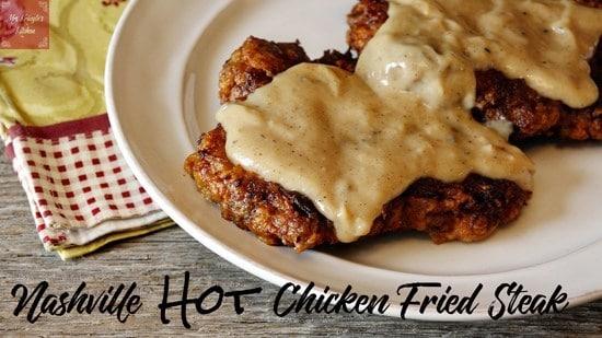 Nashville Hot Chicken Fried Steak - Mrs. Kringle's Kitchen