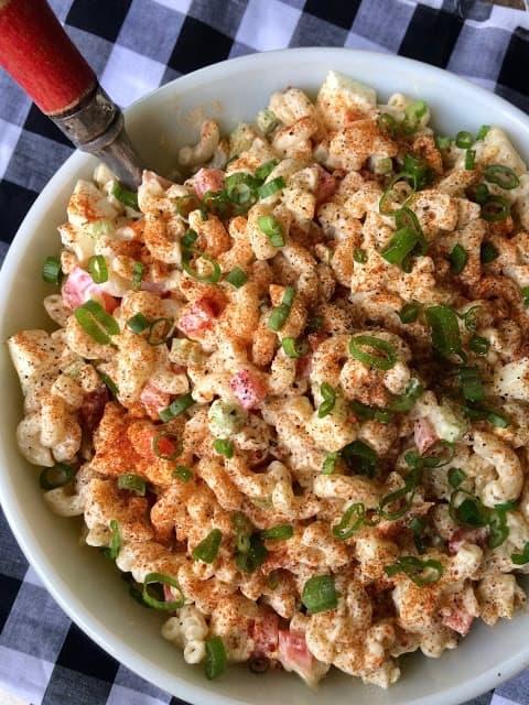 Picnic Macaroni Salad from Savory Moments Blog