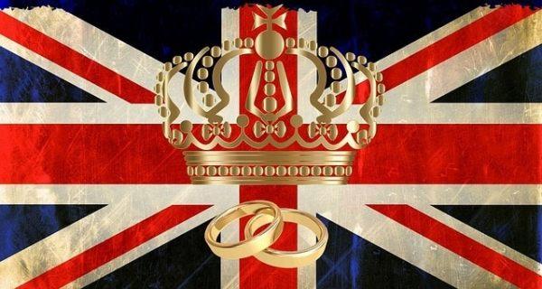 The royal wedding dinner menu