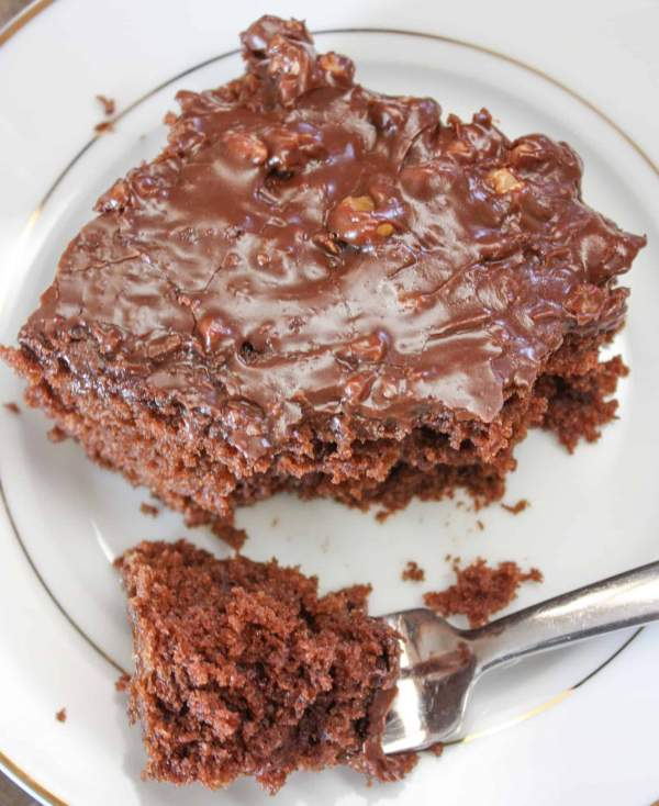 This is a delicious, easy, and one of the best sheet cake recipes out there.