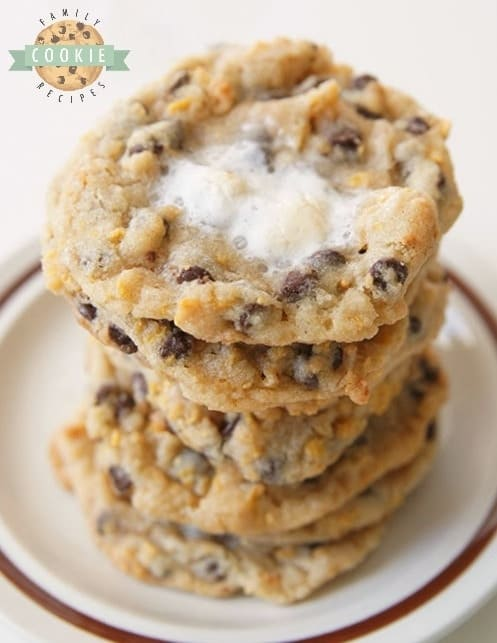 Copycat Milkbar Cornflake Marshmallow Cookies from Family Cookie Recipes