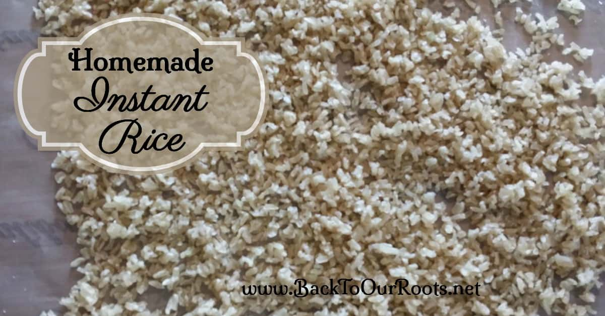 Homemade Instant Rice