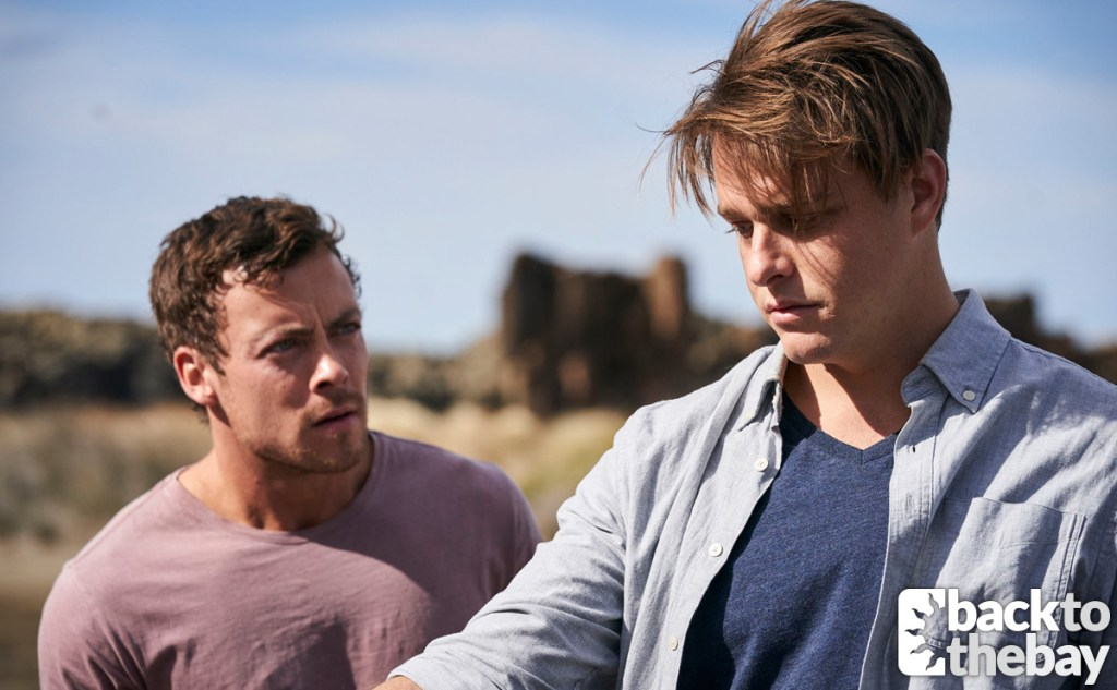 Dean features alongside Heath Braxton in the latest Home and Away spoilers