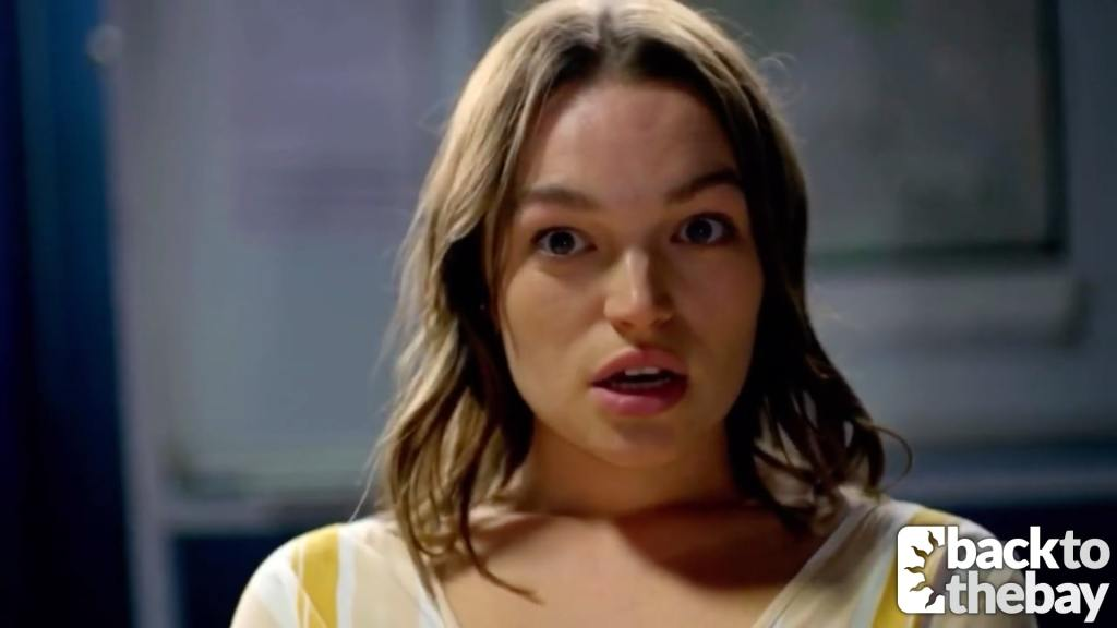 Bella talks to the camera in a brand new Home and Away trailer