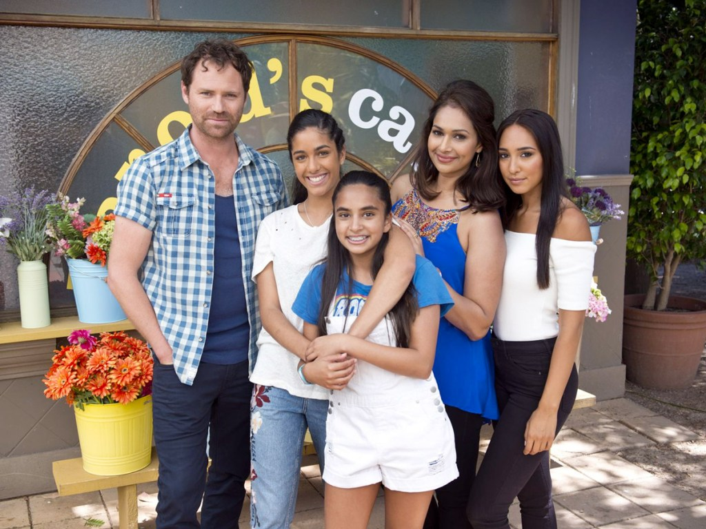 Neighbours spoilers – The Rebecchi clan of Shane, Yashvi, Kersha, Dipi and Mishti arrived in Neighbours in 2017