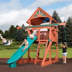 Tree House Swing Sets Treehouse Playsets Backyardadventures Com