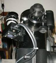 Webcam scope mount